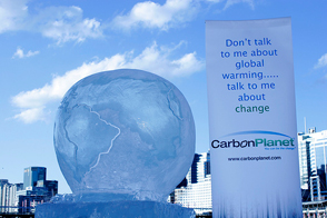 Carbon Planet - Ice Sculpture in Darling Harbour – 19